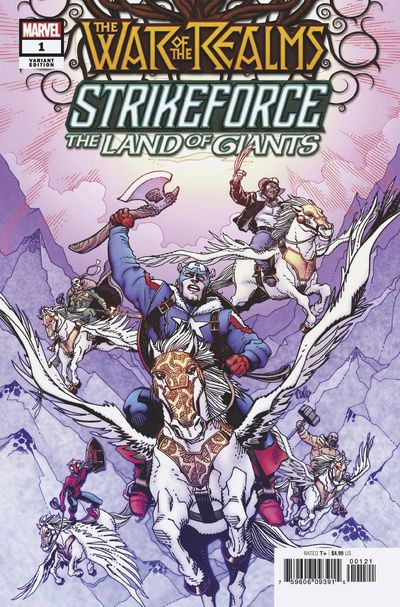 War of Realms Strikeforce Land of Giants #1 (Hamner Variant)