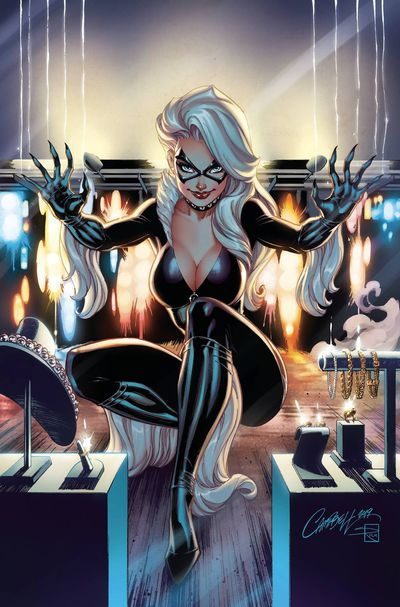 Black Cat #1 (JS Campbell Virgin Variant)