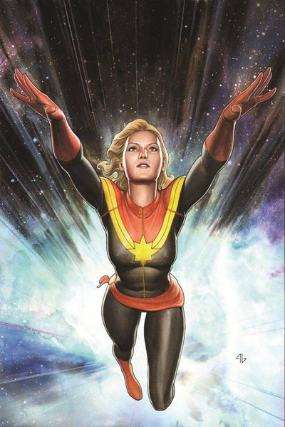 Captain Marvel #1 (Granov Variant Cover Edition)