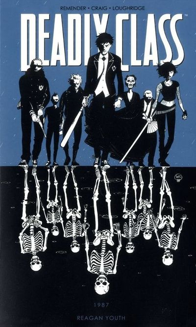 Deadly Class Vol. 1: Reagan Youth Cover