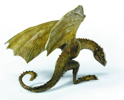 Game of Thrones Baby Dragon Resin Statues