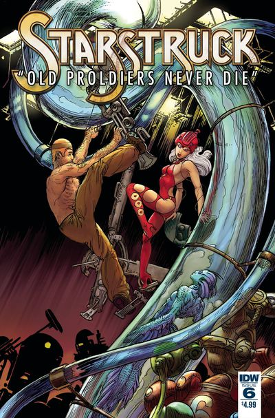 Starstruck Old Proldiers Never Die #6 (of 6)