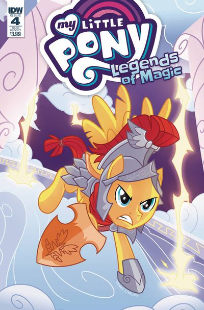 My Little Pony Legends Of Magic #4 (Cover B - Sterling)