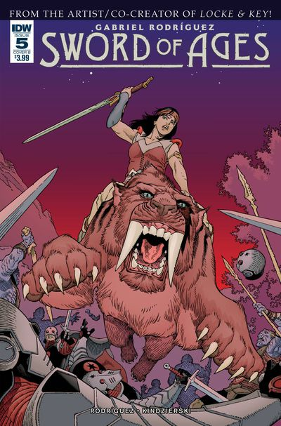 Sword of Ages #5 (Cover B - Rodriguez)