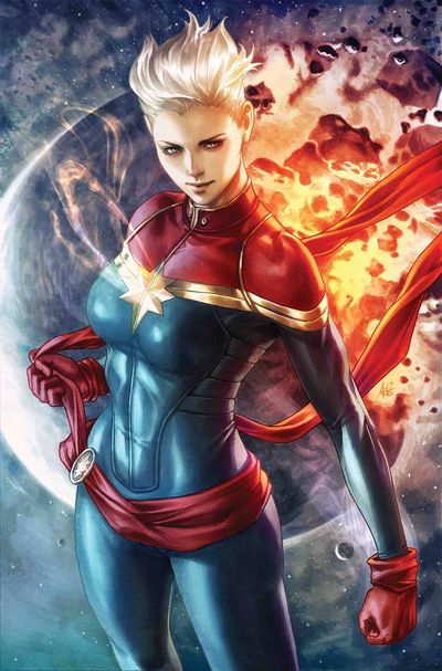 Life of Captain Marvel #1 (of 5) (Artgerm Variant)