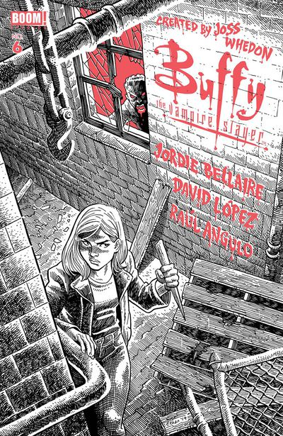 Buffy the Vampire Slayer #6 (Retailer 25 Copy Incentive Variant)