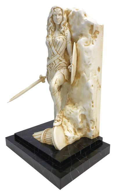 Wonder Woman Neo-Classical Marble Fine Art Statue