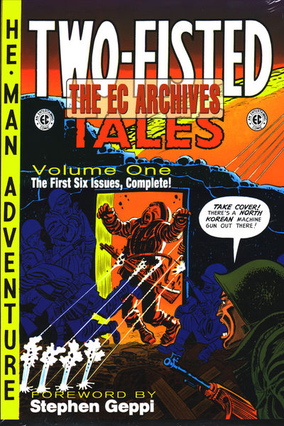 EC Archives HC Two Fisted Tales Vol. 1