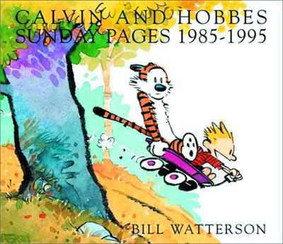 Calvin and Hobbes Sunday Pages SC 1985 -1995 New Printing