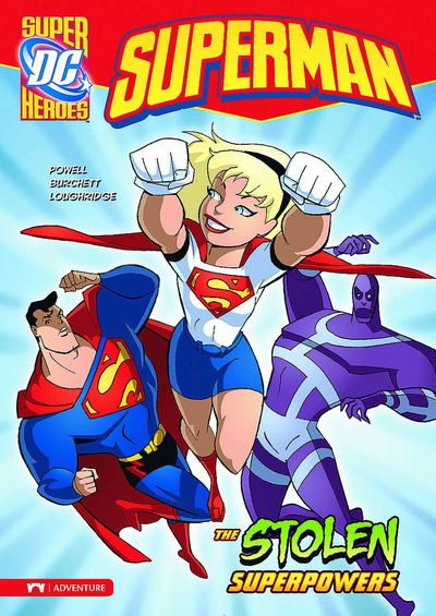 DC Super Heroes Superman Young Readers TPB Stolen Superpowers