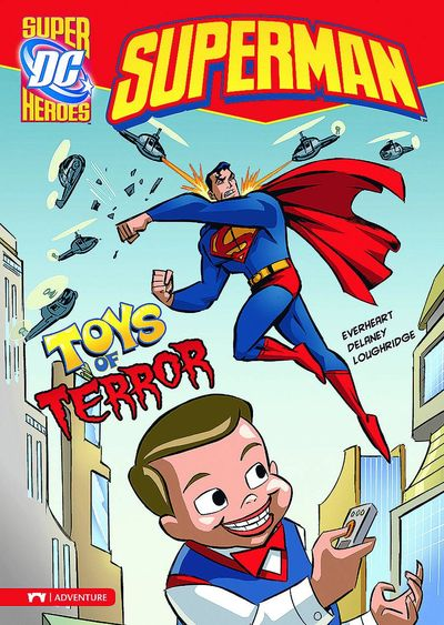 DC Super Heroes Superman Young Readers TPB Toys of Terror