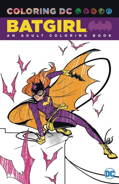 Batgirl An Adult Coloring Book TPB