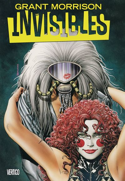 Invisibles Book 1 Cover