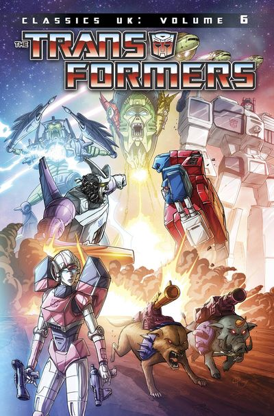 Transformers Classics UK TPB Vol. 06
