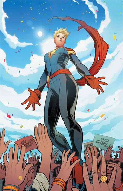 Captain Marve comics at TFAW.com