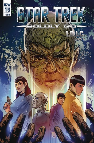 Star Trek Boldly Go #16 (Cover A - Hernandez)