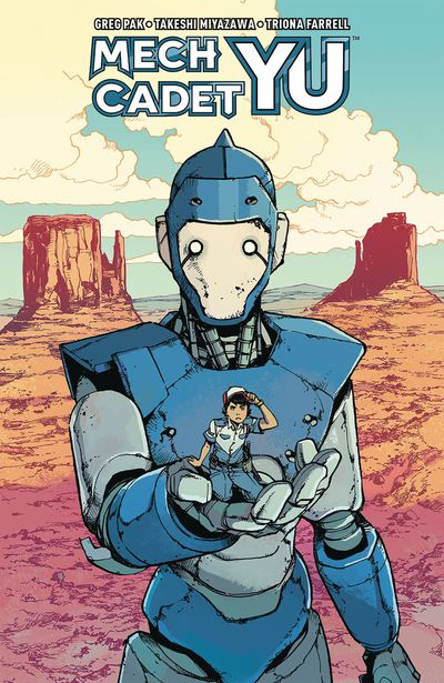 Mech Cadet Yu TPB Vol 01 (Previews Exclusive Edition)