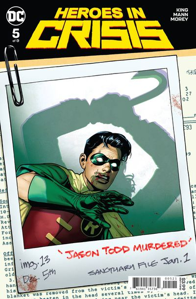 Heroes in Crisis #5 (of 9) (Sook Variant)