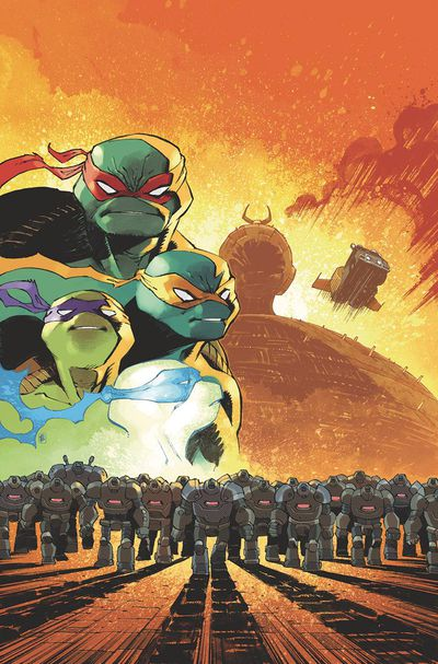Teenage Mutant Ninja Turtles Idw 2020 Daniel