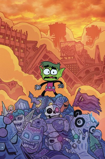 Teen Titans Go comics at TFAW.com