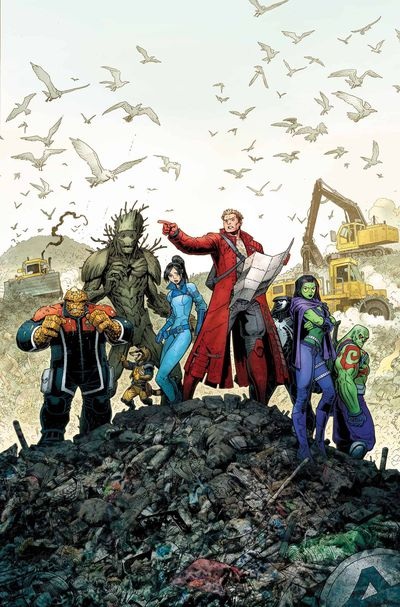 Guardians of the Galaxy comics at TFAW.com