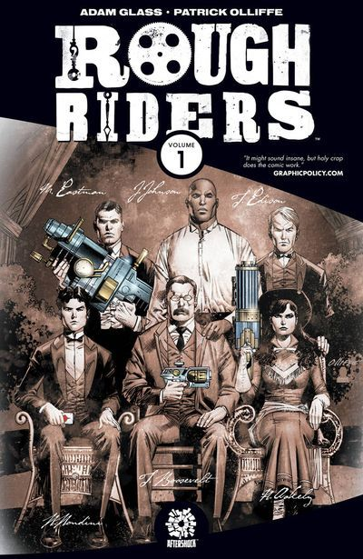 ROUGH RIDER comics at TFAW.com