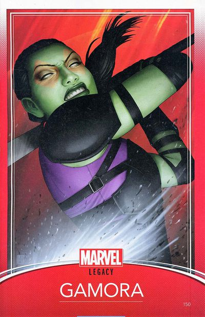Guardians of Galaxy #150 (Trading Card Variant)