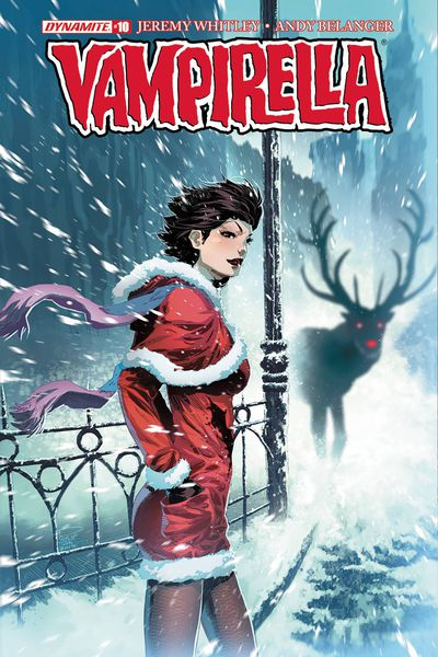 Vampirella #10 (Cover A - Tan)