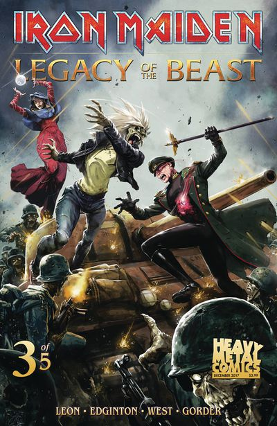 Iron Maiden Legacy of the Beast #3 (of 5) (Cover A - Casas)