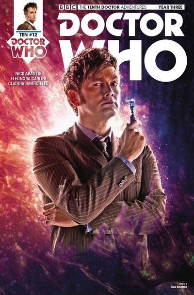 Doctor Who 10th Year 3 #12 (Cover B - Photo)