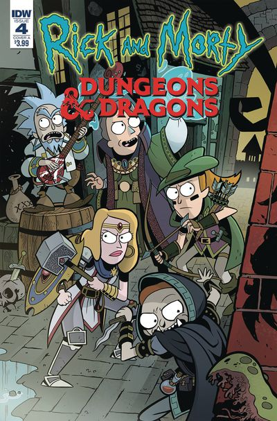 Rick & Morty vs Dungeons & Dragons #4 (of 4) (Cover A - Little)