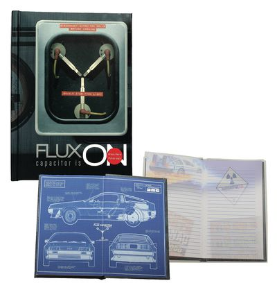 EAN 8436546890973 product image for Back to the Future Flux Capacitor Light Up Notebook | upcitemdb.com