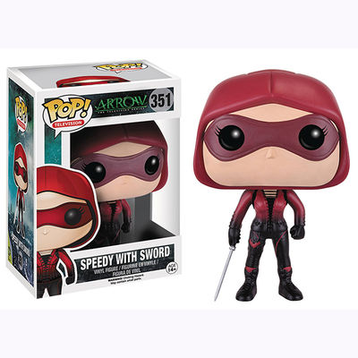 Pop Television: Arrow - Speedy With Sword Vinyl Figure
