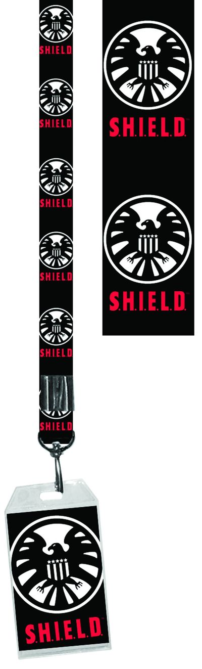 Shield Logo Black Lanyard