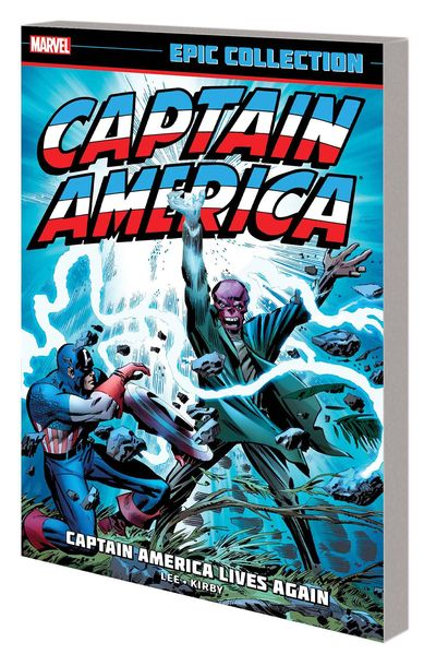 Captain America Epic Collection TPB Captain Lives Again