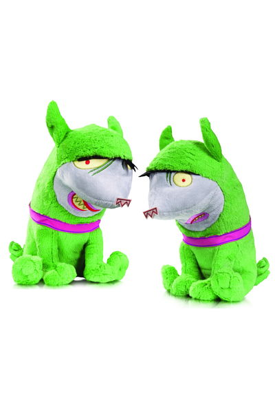 DC Super Pets Crackers & Giggles Plush Toy 2 Pack