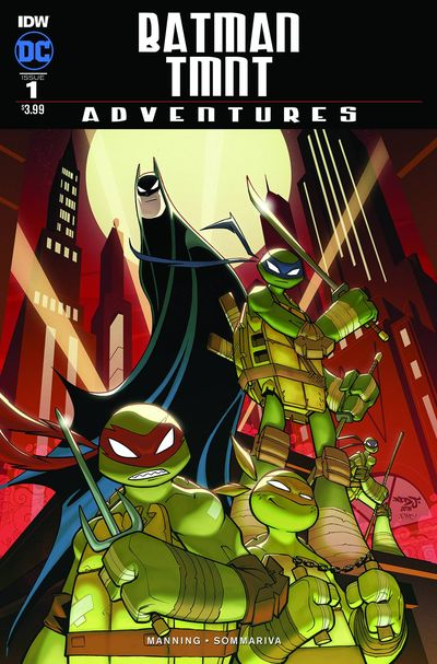 Batman TMNT Adventures comics at TFAW.com