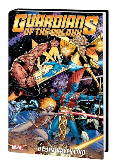 Guardians of the Galaxy by Jim Valentino Omnibus HC