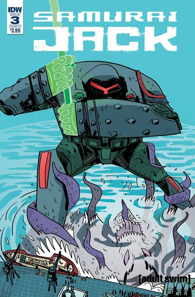 Samurai Jack Quantum Jack #3 (of 5) (Cover B - Cadwell Johnson)