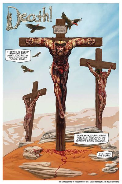 Savage Sword of Jesus Christ HC