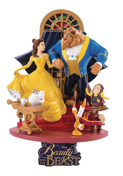 Beauty & the Beast Ds-011 Dream-Select Ser Previews Exclusive 6in Statue