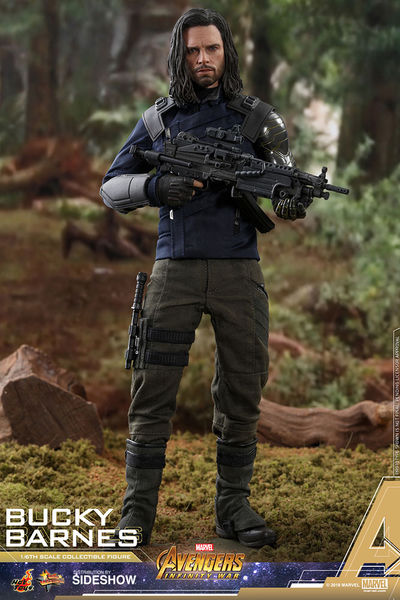 Bucky Barnes Avengers: Infinity War Sixth Scale Figure -  Sideshow Collectibles, SIDE-903795