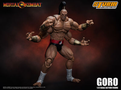 Mortal Kombat Goro Storm Collectibles 1:12 Action Figure
