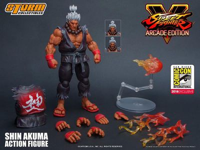 Shin Akuma Street Fighter V Storm Collectibles 1/12 AF