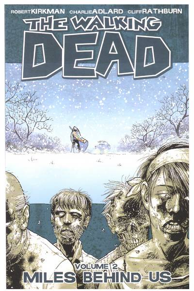 The Walking Dead TPB Vol. 2: Miles Behind Us Cover