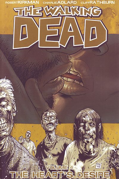 The Walking Dead Vol. 4 Cover
