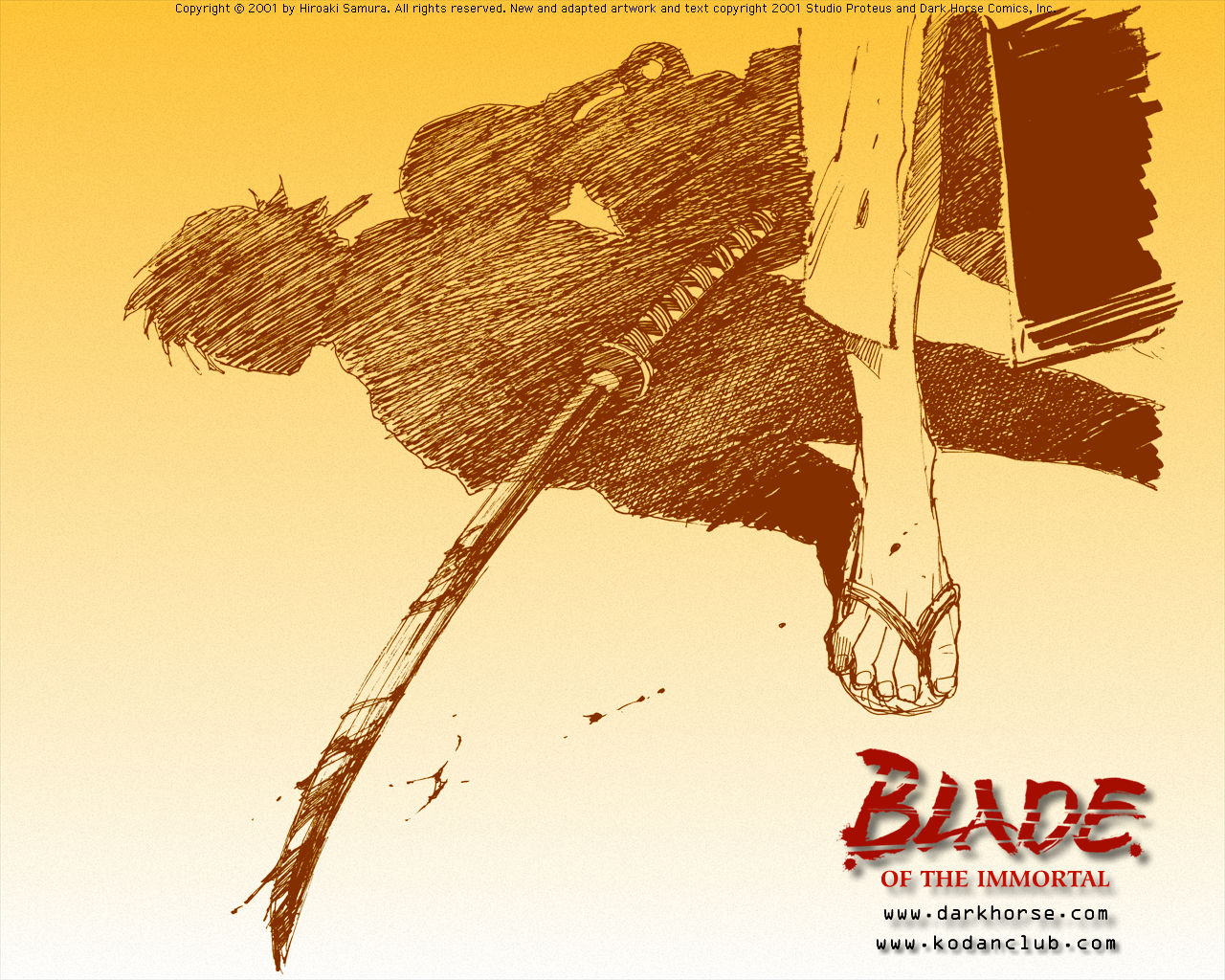 Blade Of The Immortal Desktops Dark Horse Comics