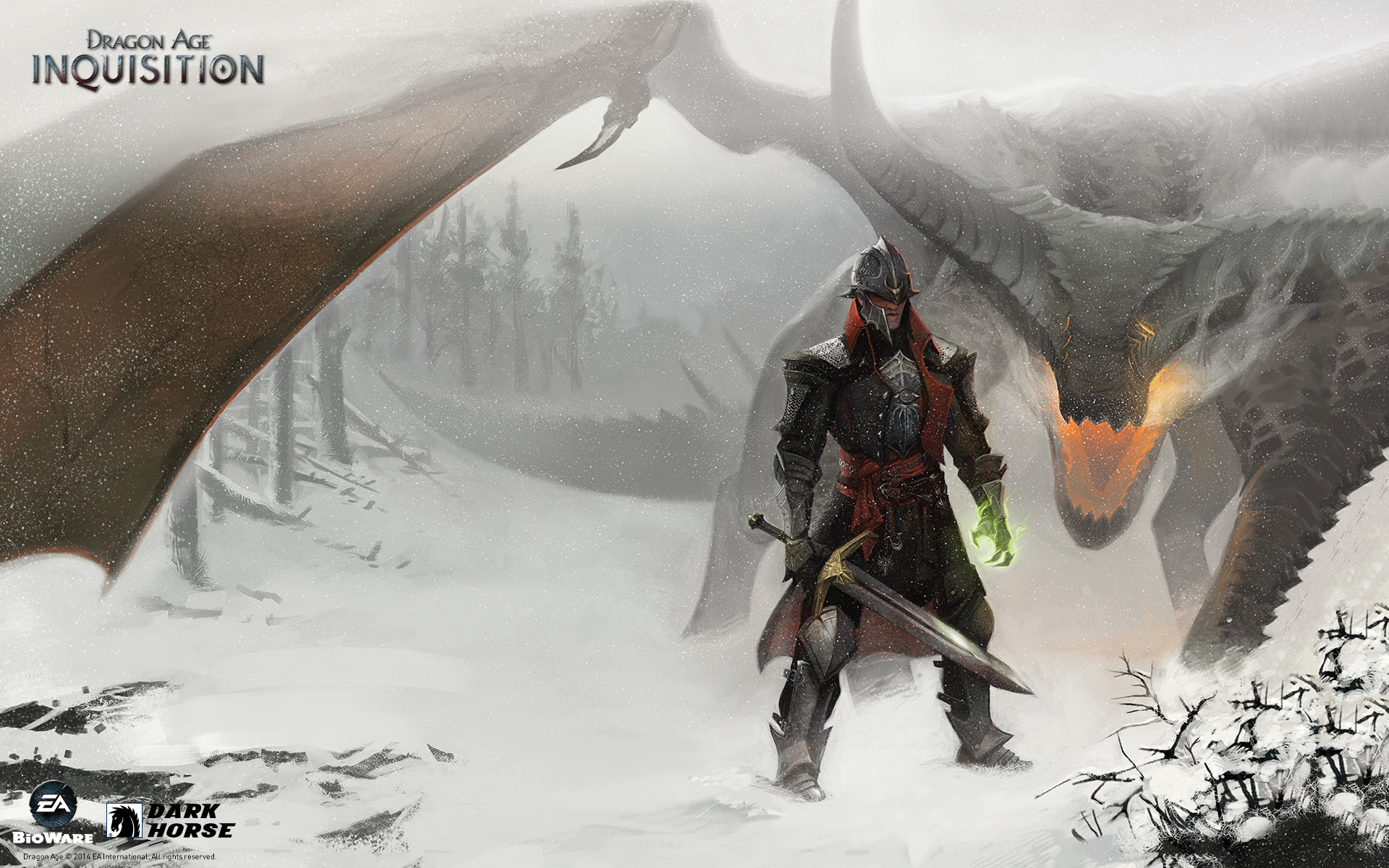 Dragon Age Inquisition Desktops Dark Horse Comics