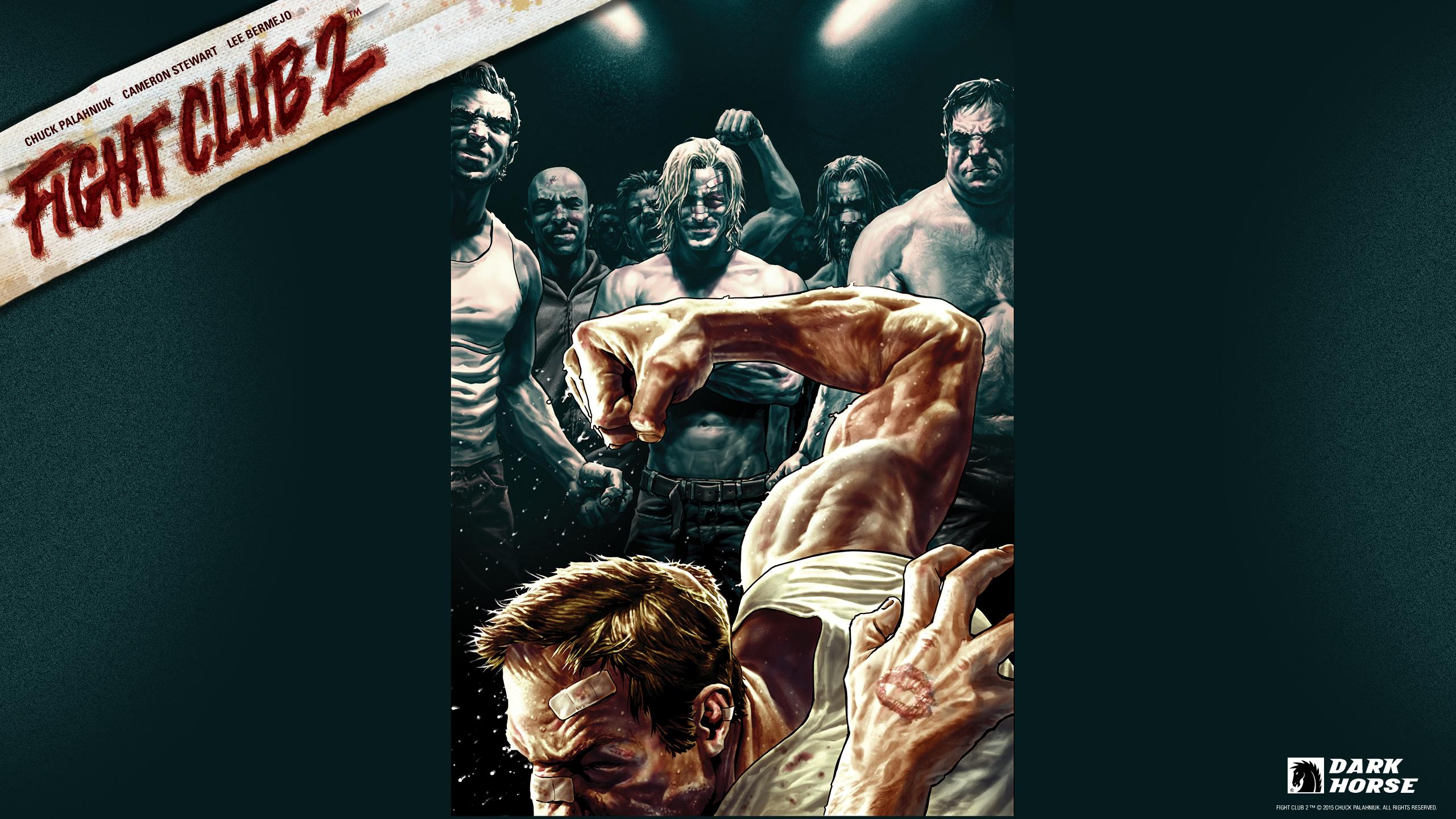 Fight Club 2 :: Desktops :: Dark Horse Comics