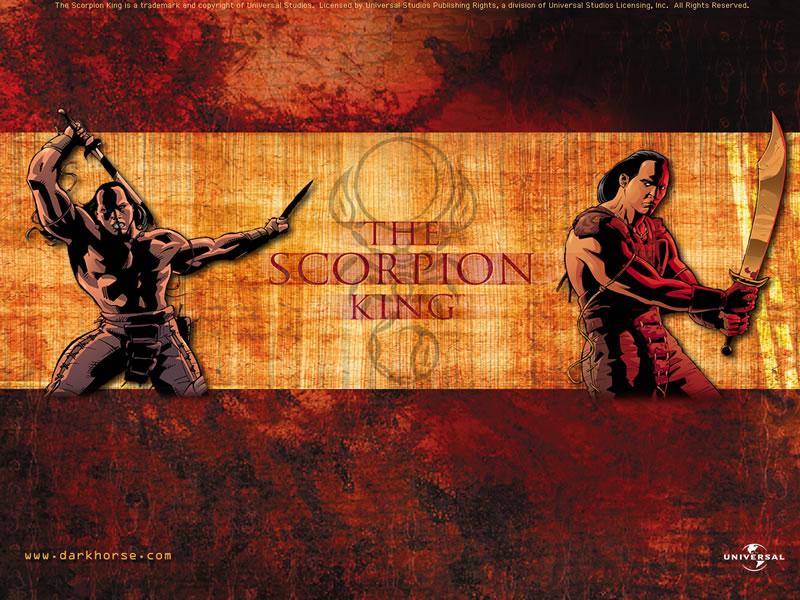Scorpion King Desktops Dark Horse Comics